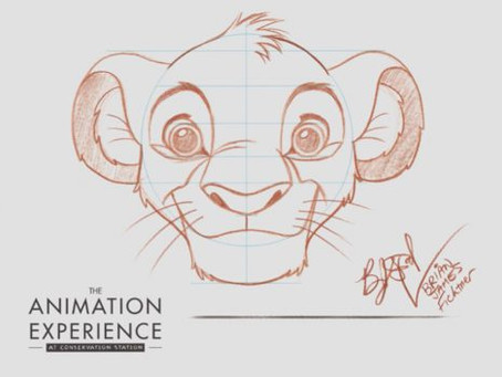 Learn to Draw: Simba from 'The Lion King'