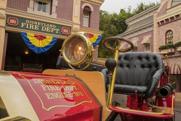Disneyland Fire Engine No 1