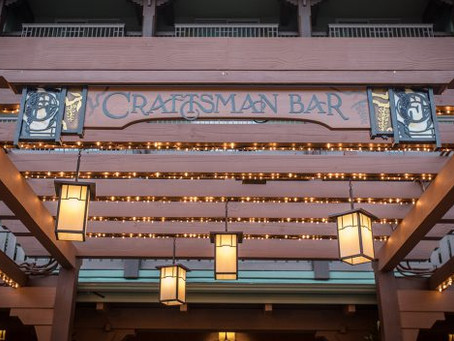 GCH Craftsman Bar & Grill Now Open at Disney's Grand Californian Hotel & Spa at Disneyland Resort