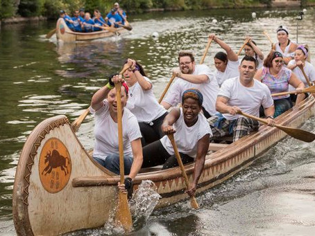 Paddles Up! Disneyland Resort Cast Members Dig Canoe Race Tradition