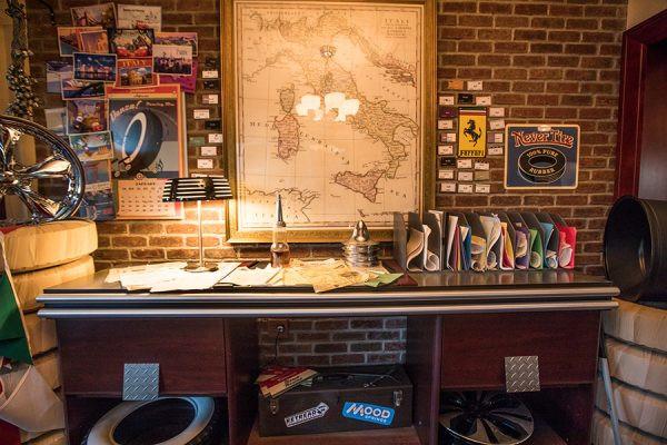 Luigi's Desk