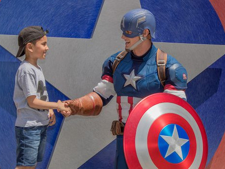 Experience the Mightiest Gathering of Super Heroes at Disney California Adventure Park