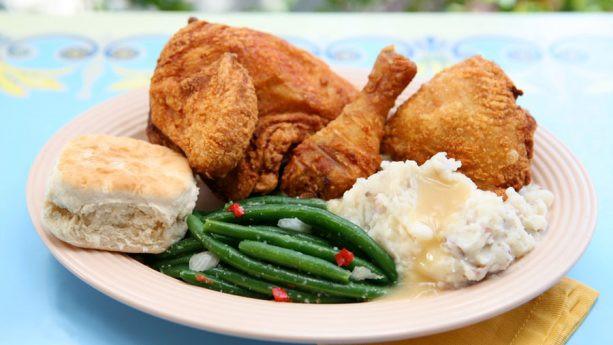 Plaza Inn Fried Chicken Dinner