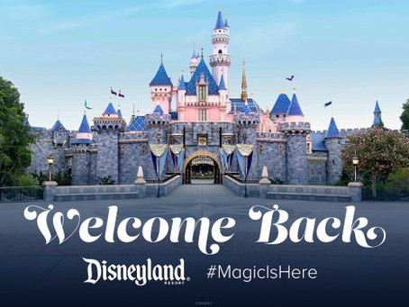 Welcome Back to Disneyland Resort Theme Parks
