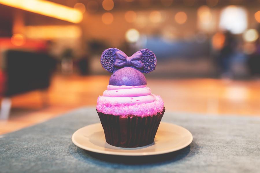 Purple Contempo Cupcake