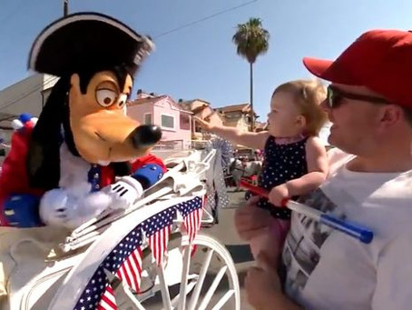 Celebrating 4th of July with the Disneyland Resort Community