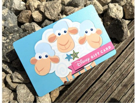 Disney Gift Card has Found Bo Peep's Sheep!