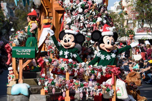 Magical Christmas Day Parade
