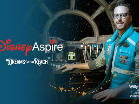 Dreams Within Reach: Disneyland Cast Member Reaches For The Stars with the Disney Aspire Program