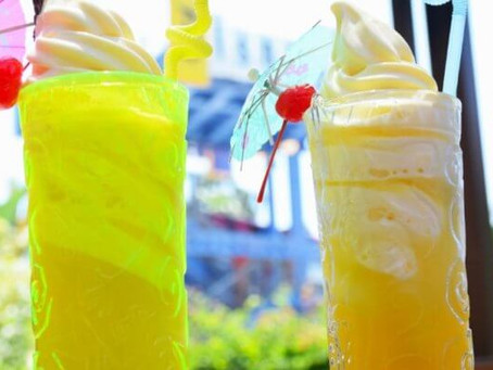 Dole Whip Float souvenir cup now available at Disneyland Hotel