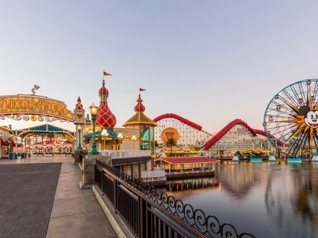 Adventure is Out There at Pixar Pier in Disney California Adventure Park