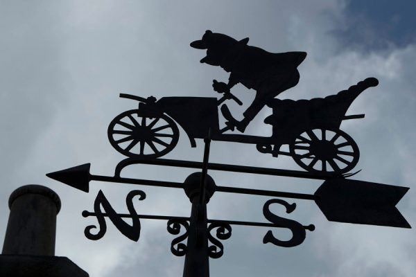 Mr. Toad's Wild Ride Weathervane