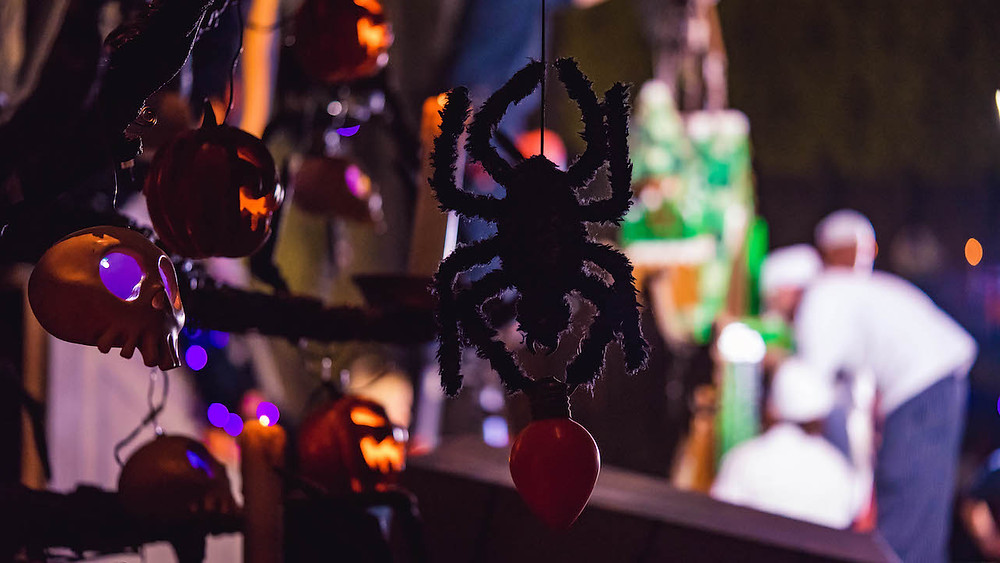 Haunted Mansion Holiday Spider