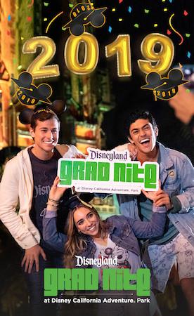 2019 Disneyland Resort Grad Nite