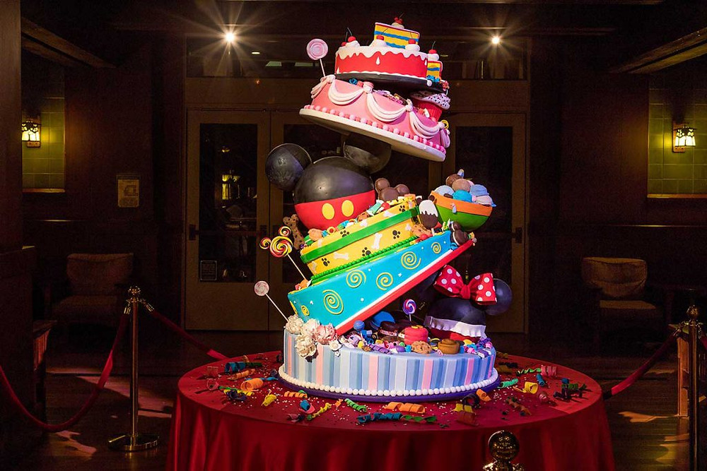 Mickey's 90th Celebration Cake