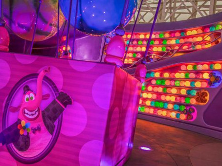 First Look: Inside Out Emotional Whirlwind at Disney California Adventure Park