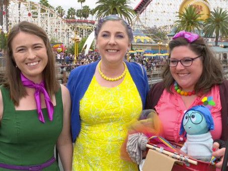Pixar Best-Dressed at Disney California Adventure Park