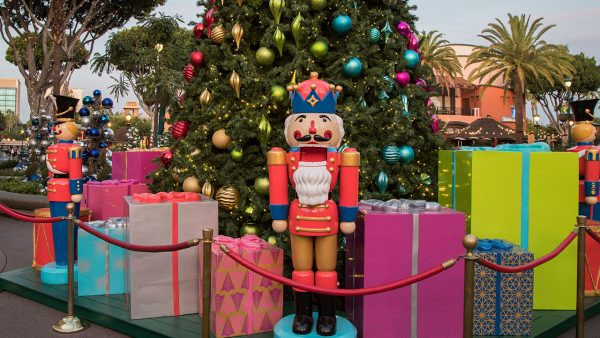 Holidays in the Downtown Disney District at the Disneyland Resort