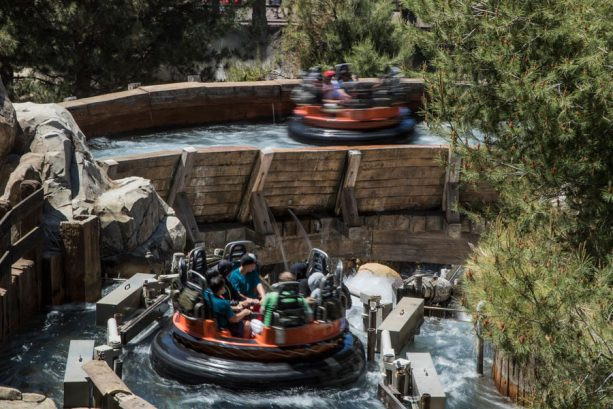 Grizzly River Run Rushing Waters