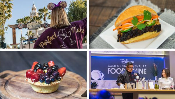 2019 Disney California Adventure Food & Wine Festival