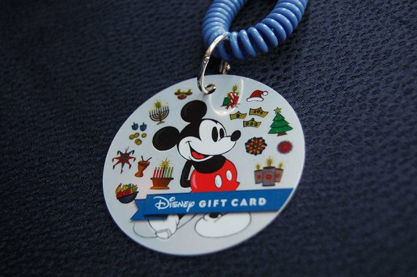 Gift Card Disneyland Festival of Holidays
