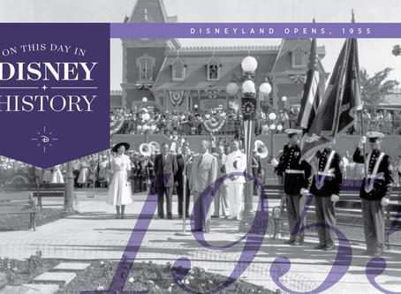 Today in Disney History: Disneyland Opens, 1955
