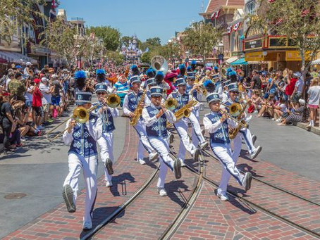 Catch 'Mickey and Friends Band-Tastic Cavalcade' Now at Disneyland Park