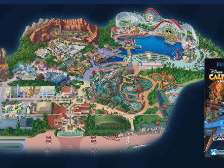 First Look: Guide Map for Avengers Campus at Disney California Adventure Park
