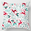 Thumbnail: Christmas Pillow Cover 17x17,Square Christmas Decorative Cotton