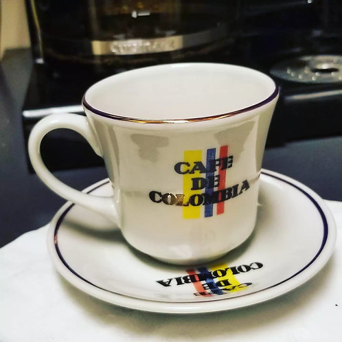 Colombian Coffee cup! Expresso cup