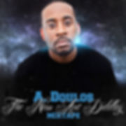 Cover of A. Doulos album The New Ant Diddley Oakland hip hop rap Christian