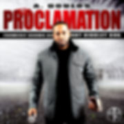 Cover of A. Doulos album The Proclamation Oakland hip hop rap christian