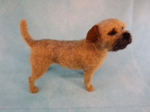 How to NeedleFelt a Border Terrier