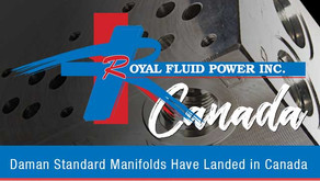 Royal Fluid Power: Daman Products Now Available in Canada