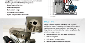 Integrated Filter Cartridge Manifold Solution