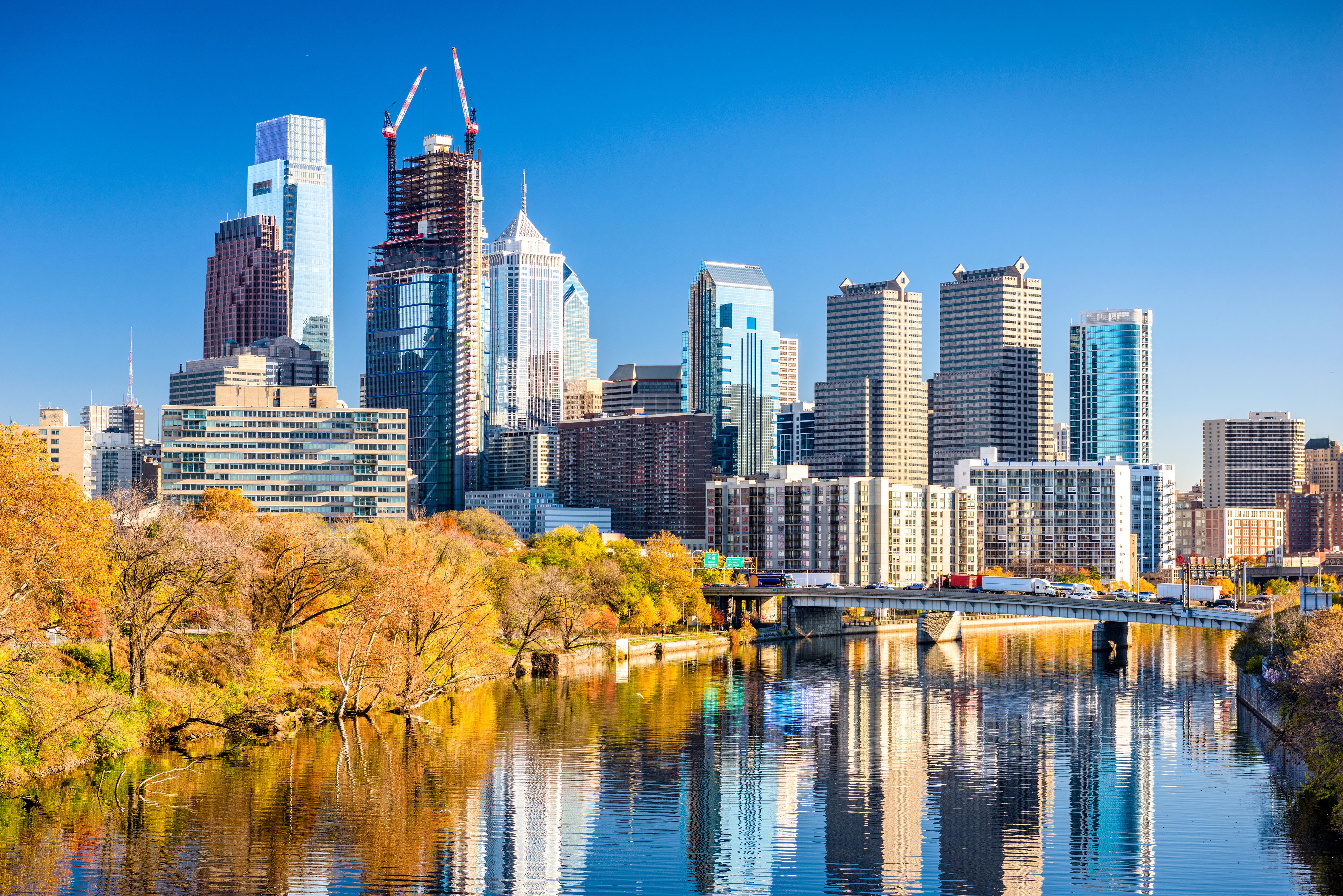 Philadelphia, Pennsylvania, USA downtown