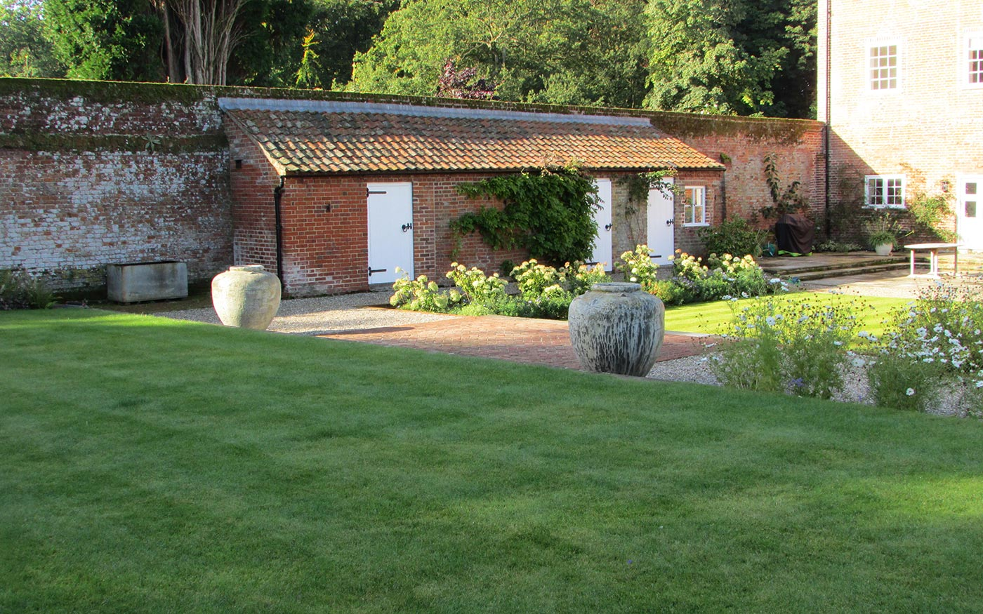 Walled Garden & Landscaping