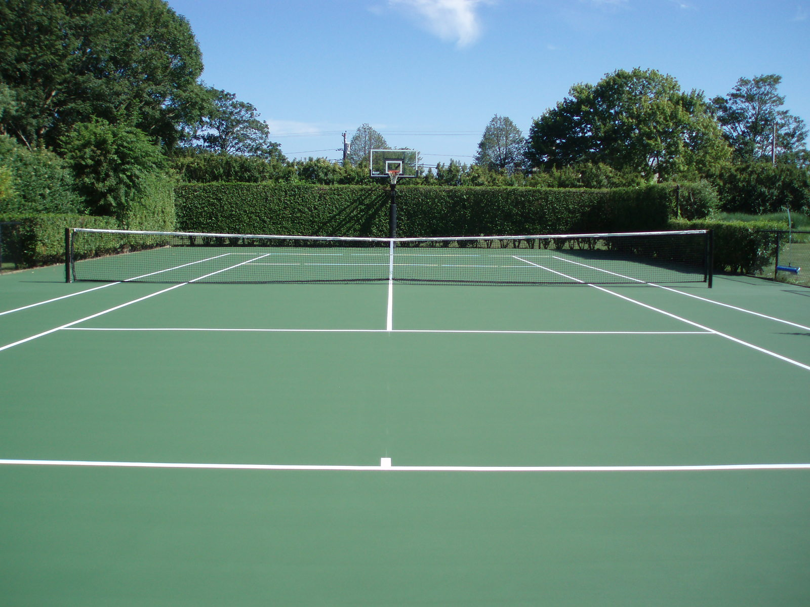 Tennis Court Installment
