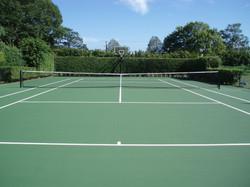 Tennis Court Installment