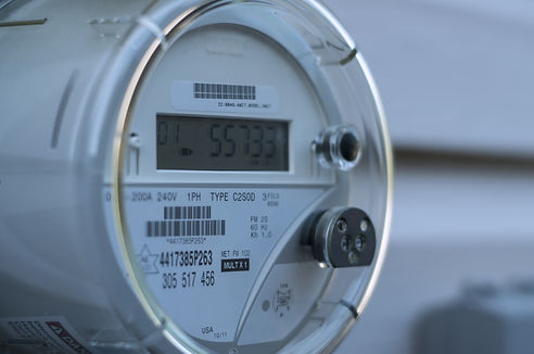 A smart electric power meter measuring p