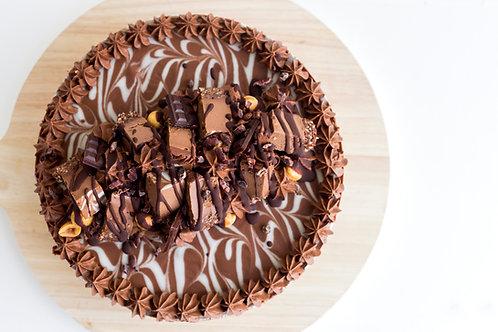 21cm Choc Hazelnut Cake