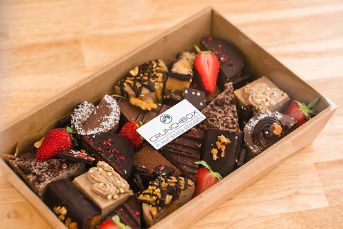 Chocolate Style Platter 20 Pieces
