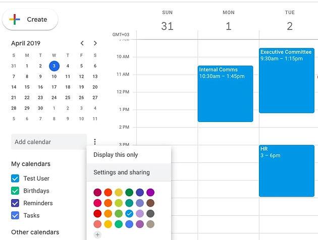 How to Display Google Calendar Live on Digital Signage Displays