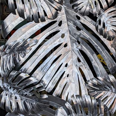 Aluminum artwork