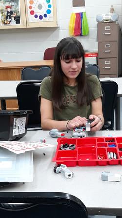 hannah building a bot