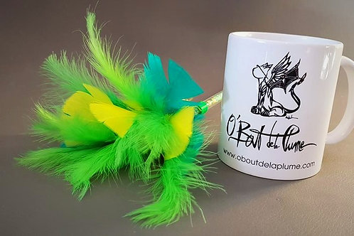 Mug O'Bout de la Plume