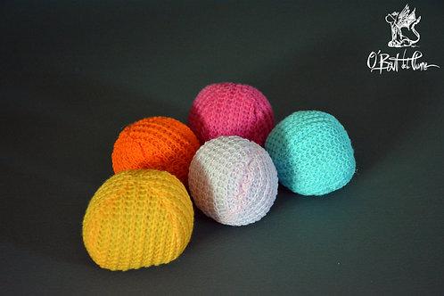 Balle tricotée