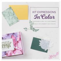 kit Paper Pumpkin Expressions In Color Stampin'Up! avec Françoise