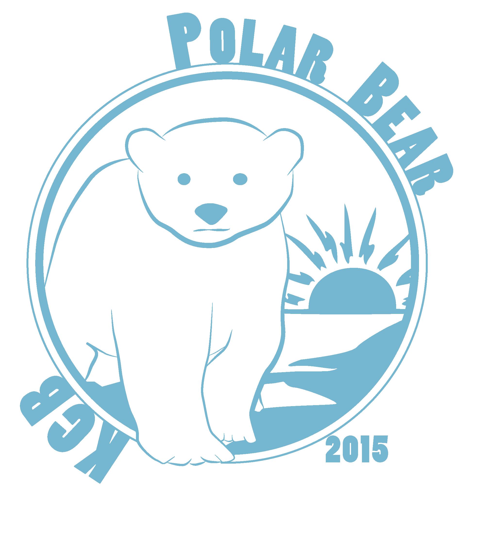 polar bear logo 2015 blue