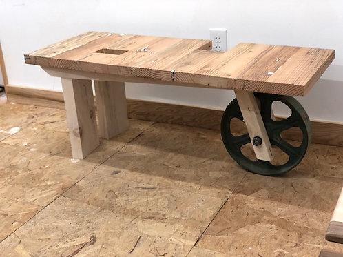 Green Wheel Table